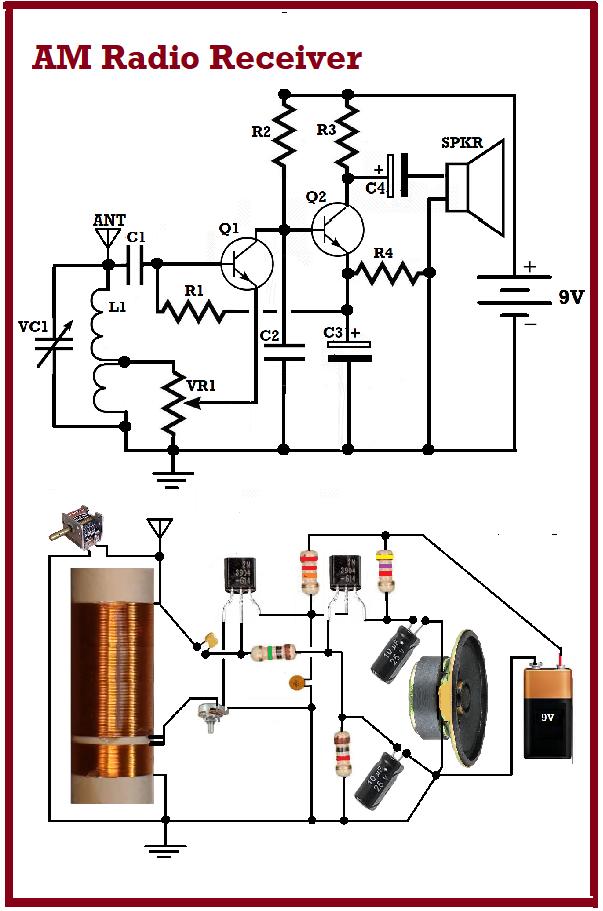 Fun Easy Am Radio Project Electronic Circuit Projects Electronics Projects Electronics Projects Diy