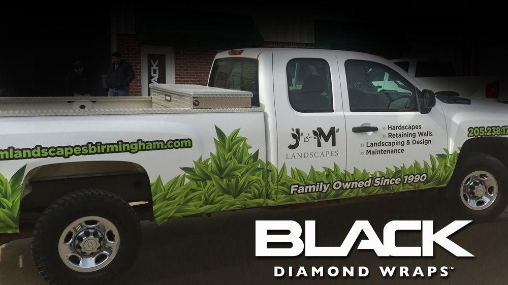 Truck Wraps Birmingham, AL Truck lettering, Landscape