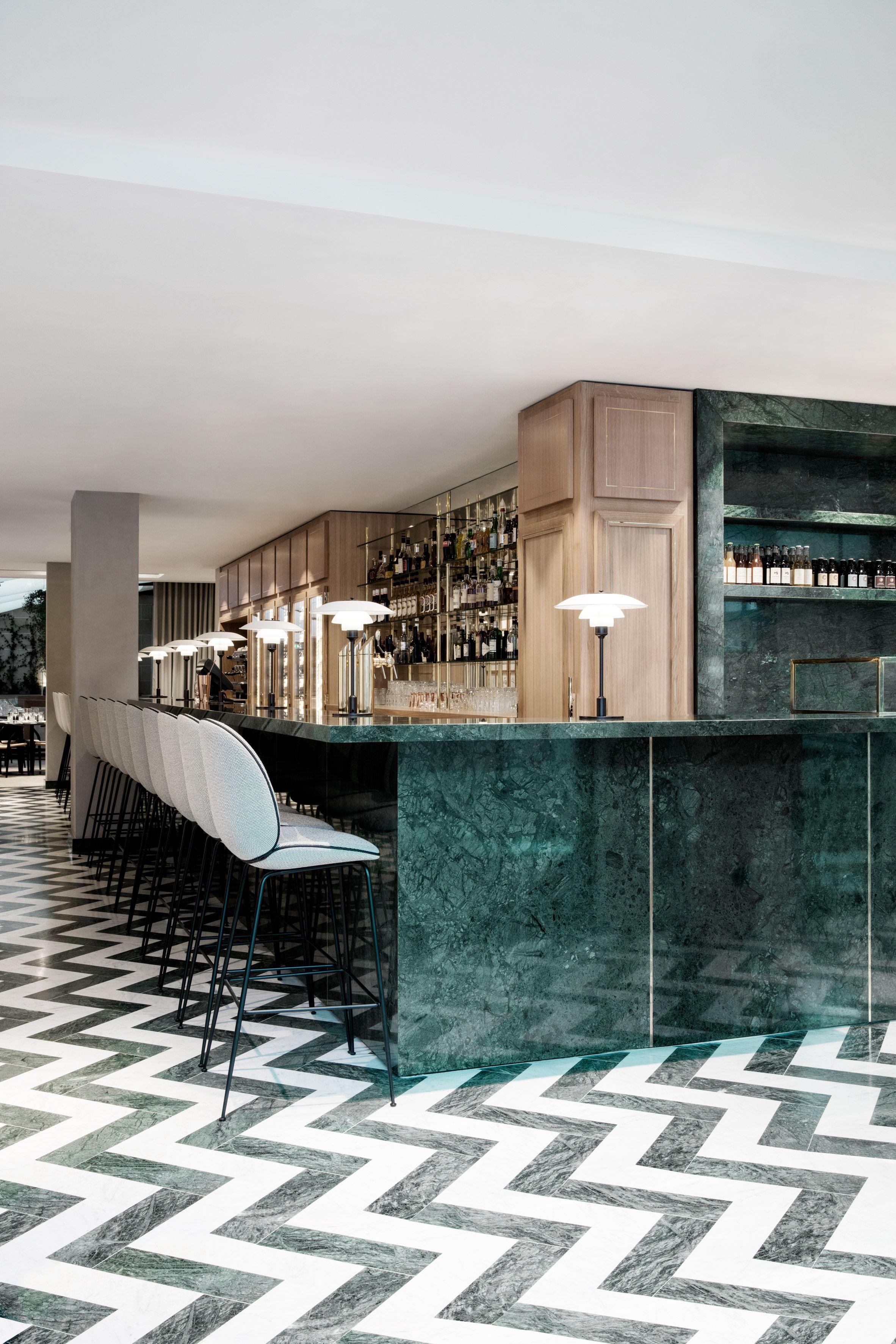Gubi at Maison du Danemark | blank slate | Pinterest | Counter bar ...