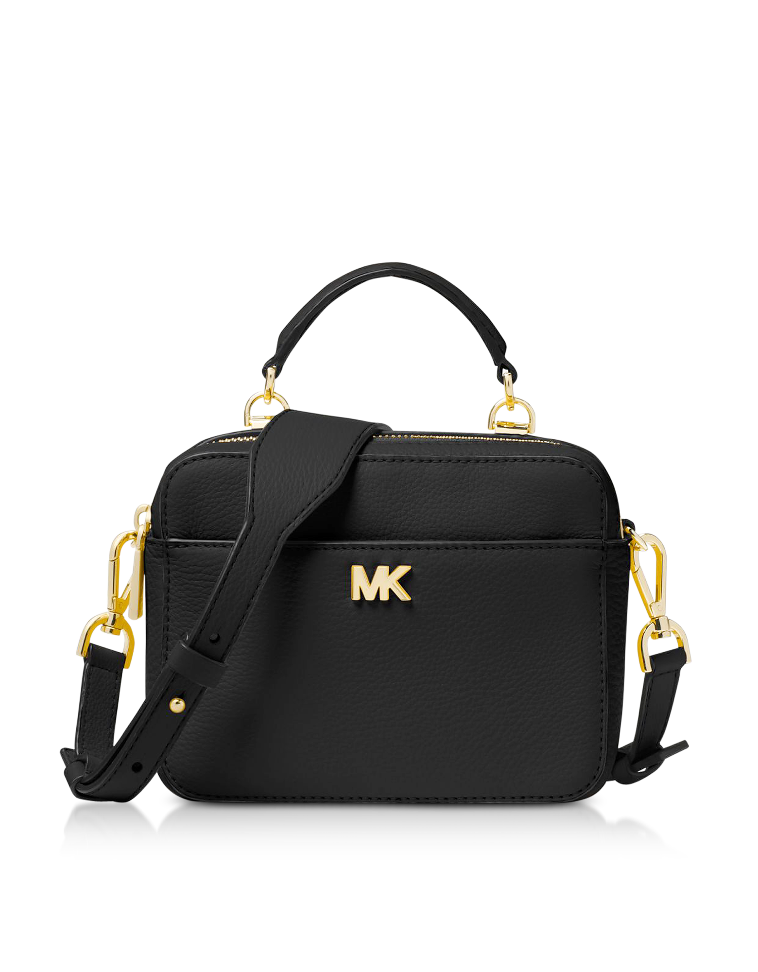 3e2f6c5a7a92e4 New Arrivals: Michael Kors - Mott Mini Pebbled Leather Crossbody ...