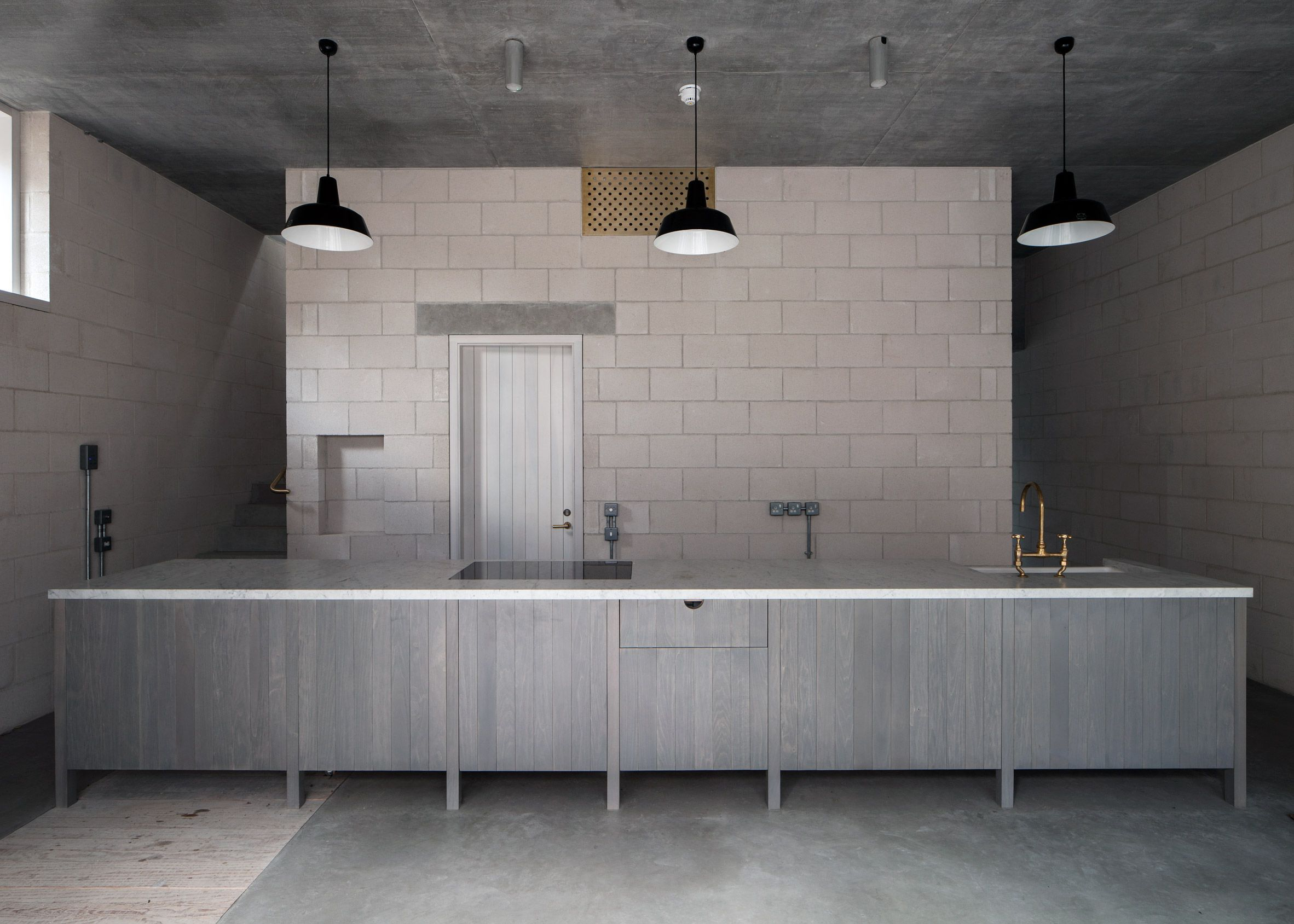West London Kitchen Design 6a Architects Completes Concrete Photography  Studio For Juergen