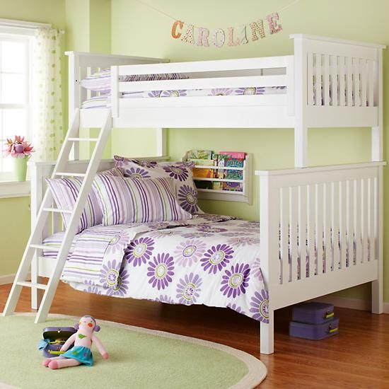 The Land Of Nod Kids Bunk Beds Kids Twin Over Full White