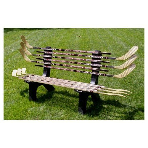 Ski Chair Hockey Stick Bench