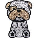 Bulldog Rhinestone Decal | Bulldogs | DogBreedStore.com