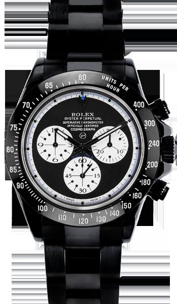 876a839d300 Rolex Cosmograph Daytona Relógios Preto