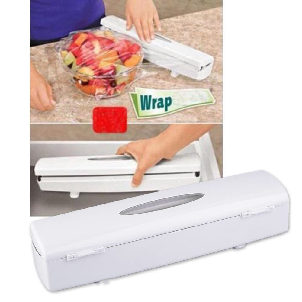 Foil Plastic Wrap Easy Dispenser Cutter Unbranded Love Me Tbt Cute Follow Followme Photooftheday Onlineshopping Ebay Eb Kitchen Foil Plastic Wrap Dispenser Cling Film Wrap