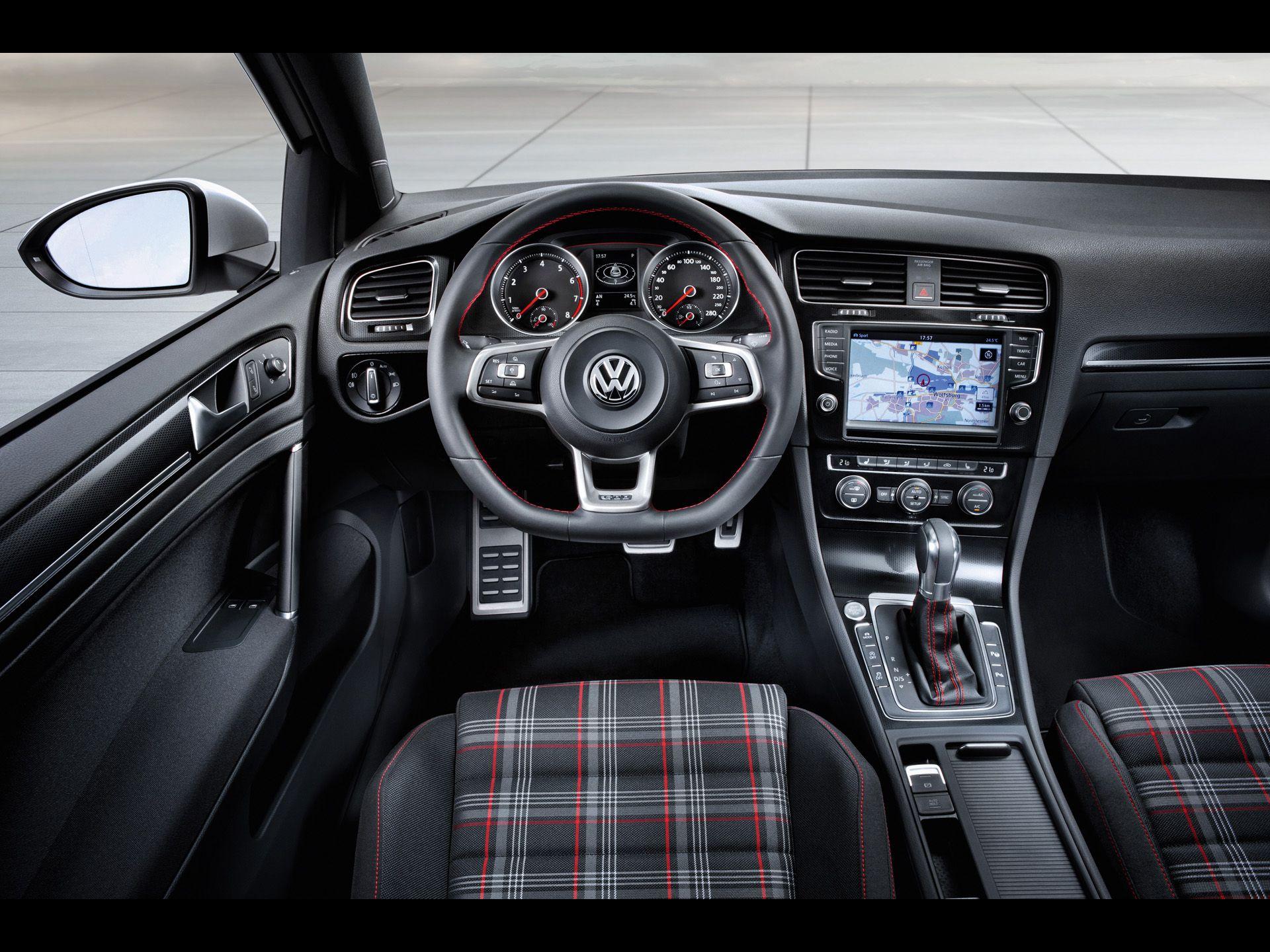 2012 Volkswagen Golf GTI Concept Interior