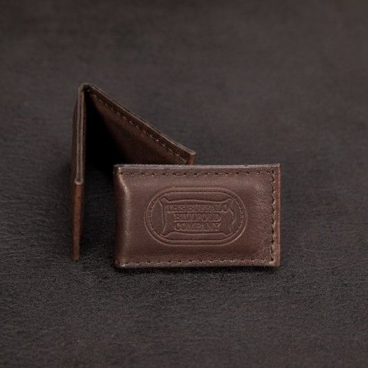 386220da04721b Buffalo Leather Magnetic Money Clip - Made in America - Buffalo Billfold  Company