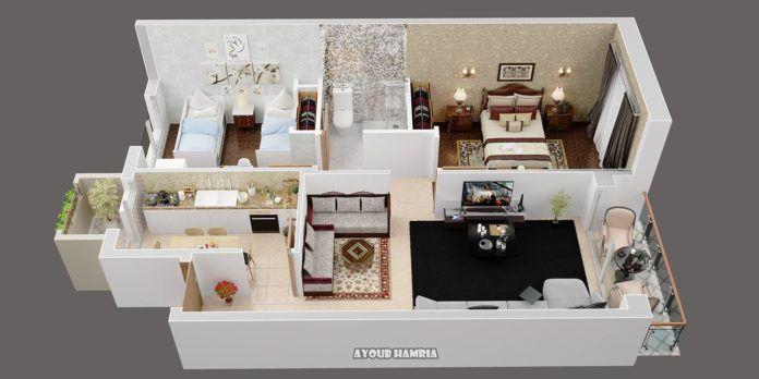 Mind Boggling 3d Home Plans Amazing Architecture Magazine Desain Rumah Rumah Desain