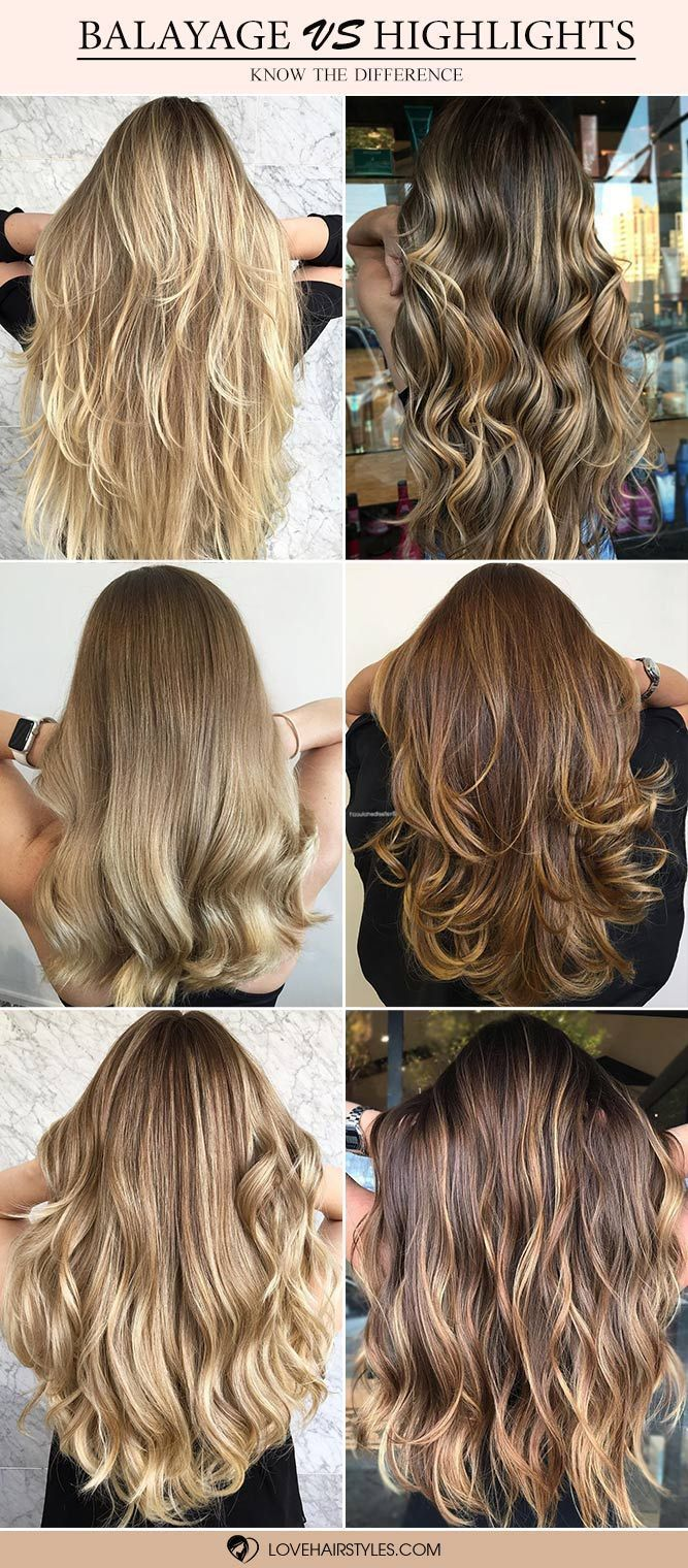Balayage Highlights How Often Do You Mix The Two If You Are New