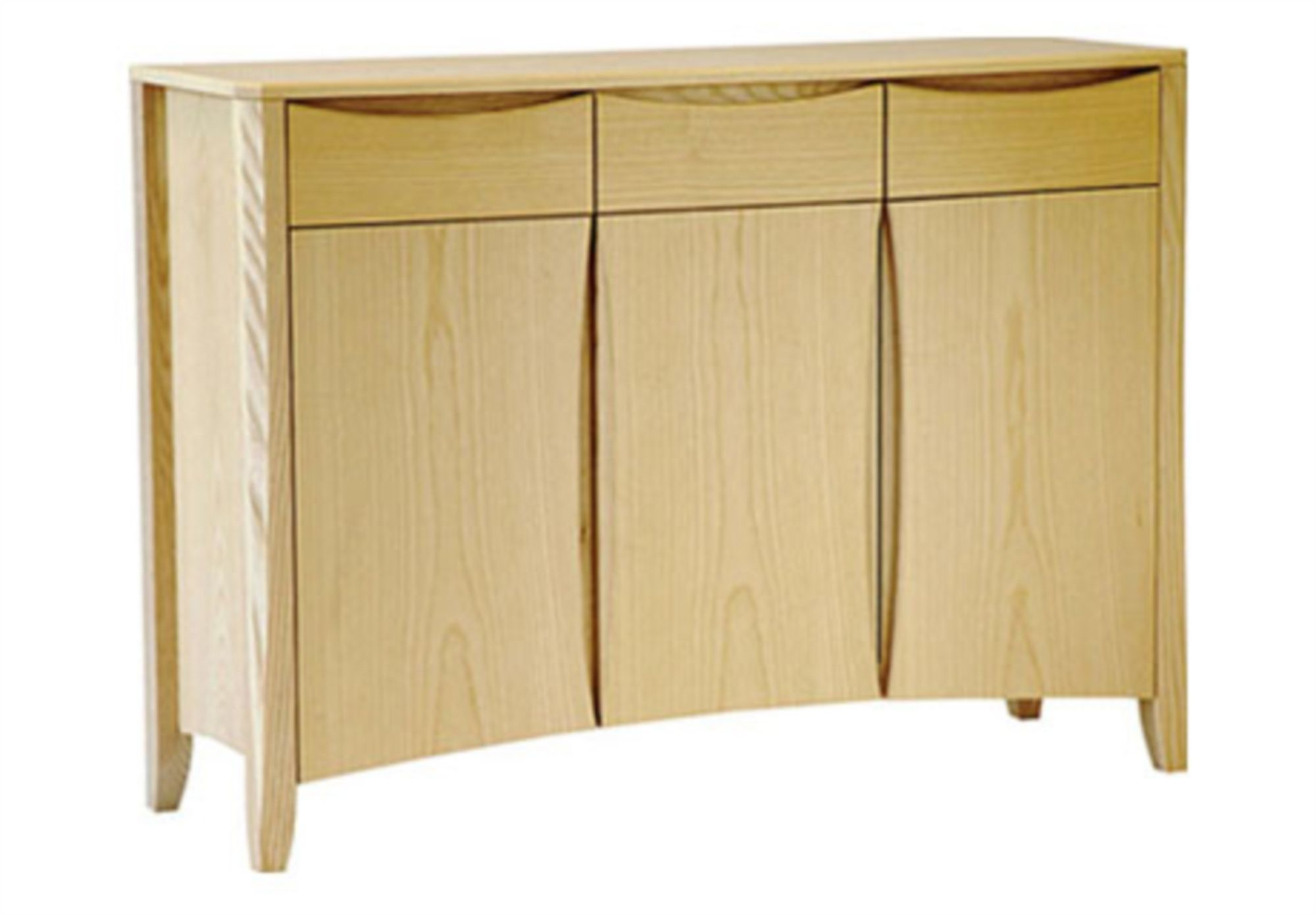 Furniture Village Aylesbury ercol artisan 3 door sideboard at furniture village - ercol