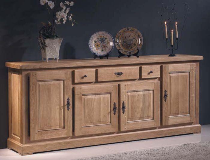 Mueble #aparador rustico formado por 4 puertas y 3 cajones de ...