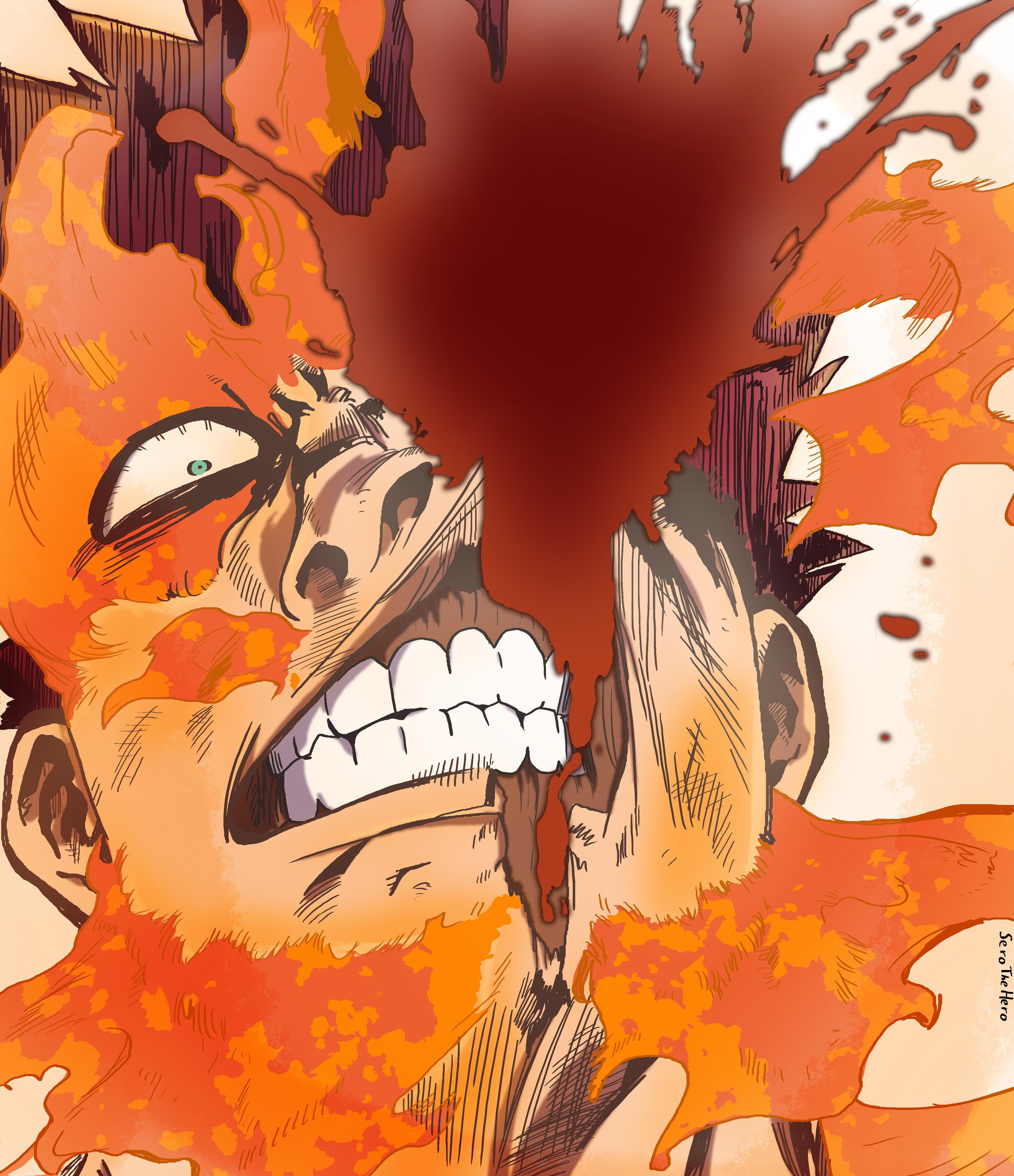 My Hero Academia The Manga Endeavor Yikes Didn T Expect That Coming My Hero My Hero Academia My Hero Academia Manga