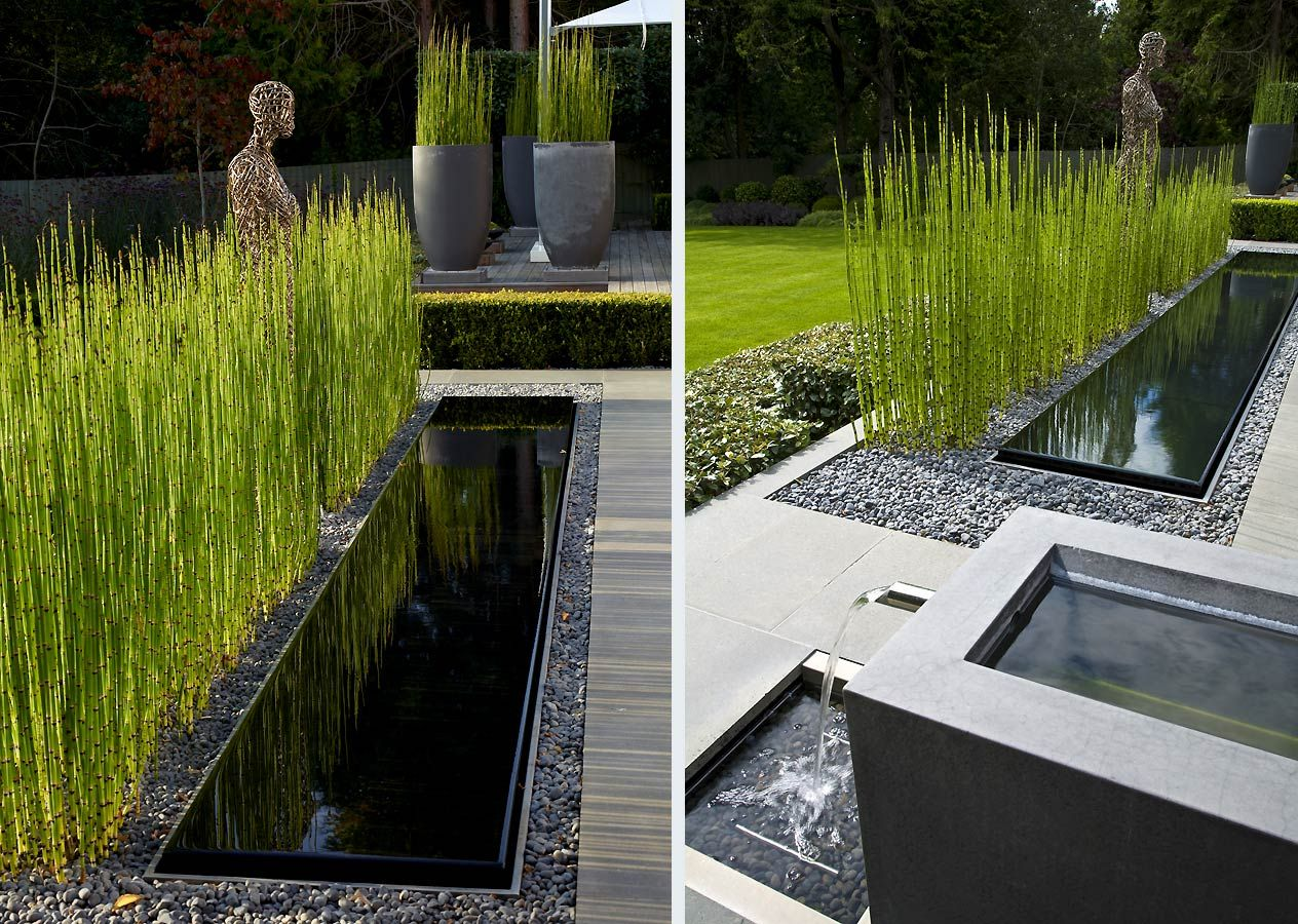 Water Features In The Garden Landscape Design Water Features Backyard modern water features