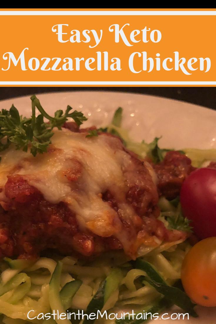 Easy Keto Mozzarella Chicken images