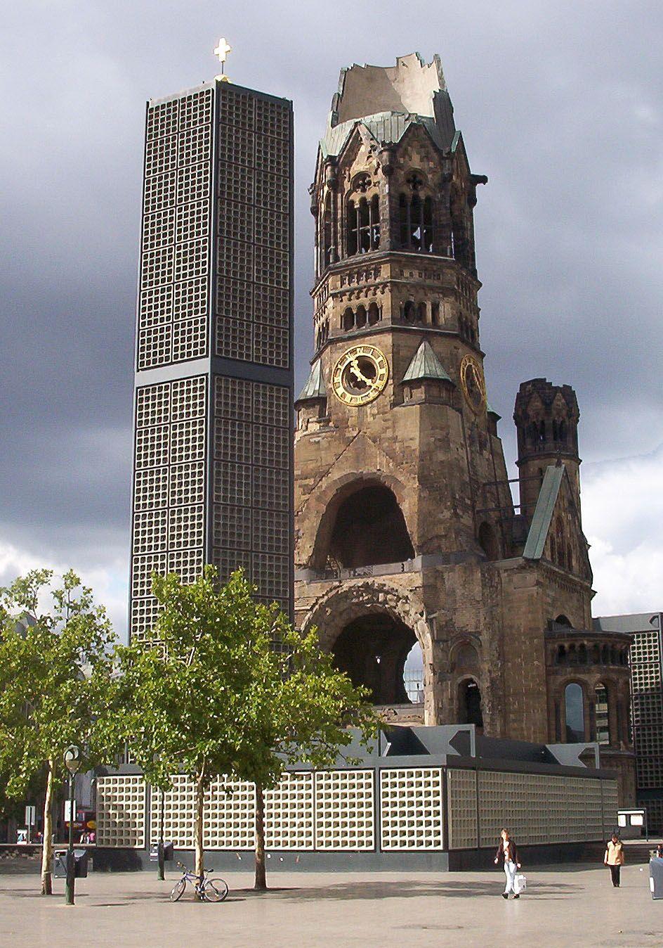 Berlin Gedachtniskirche Berlin Breitscheidplatz Berlin Urlaub