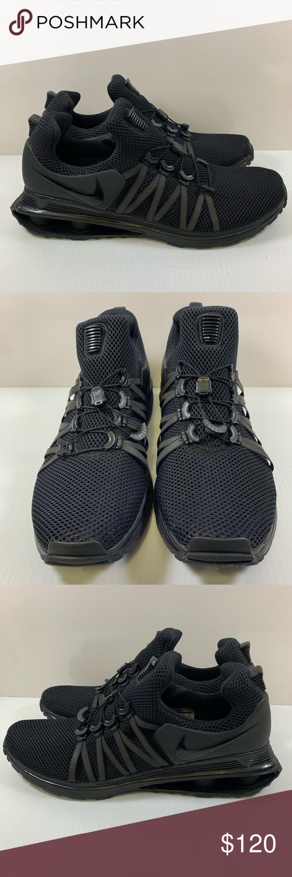 3493bd0cd72 Nike Shox Gravity Men s Sz 13 Black AR1999-001 Nike Shox Gravity Men s  Training Shoes Triple Black Men s size 13 Nike ID  AR1999-001 New without  box 100% ...