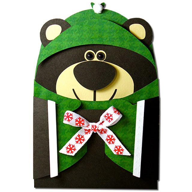 jmrush designs black bear hug gift card holder gift card holders
