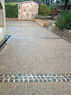 b ton d sactiv stone accents pinterest beton d sactiv beton et all e. Black Bedroom Furniture Sets. Home Design Ideas