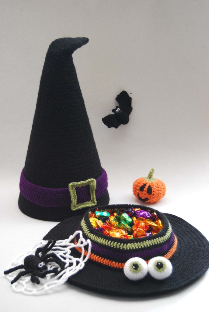 Trick or Treat! Halloween Witch's Hat PDF Crochet Pattern