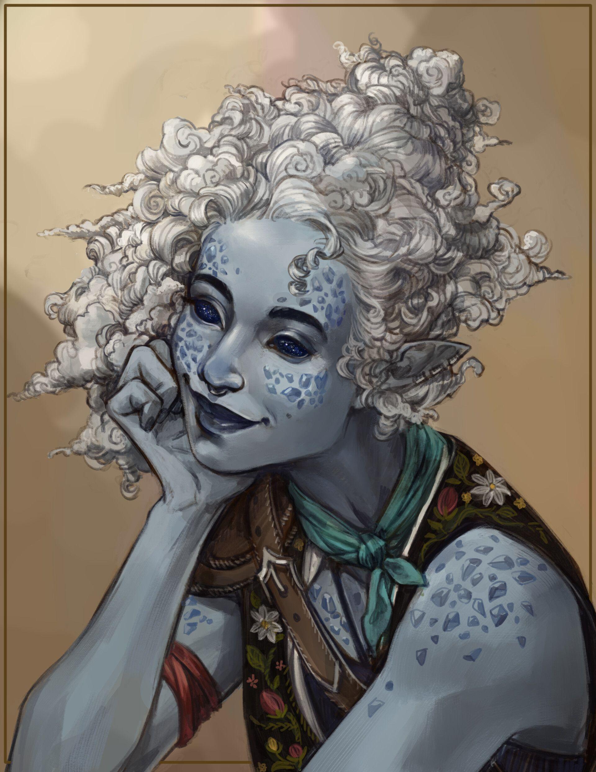 ArtStation - Fantasy Character Portraits, Anna Veltkamp