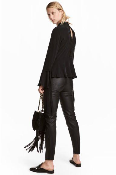 169c9b84ed5 Leather trousers - Black - Ladies