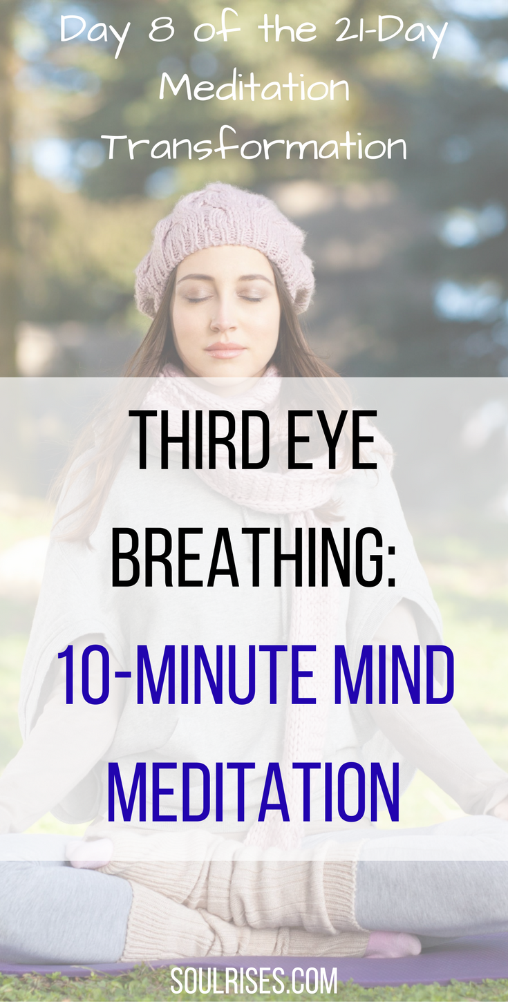 10-minute #meditation for clearing the #mind and creating ...