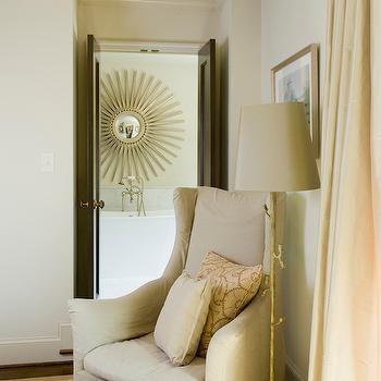 Reading Corner Ideas, Transitional, bedroom, Urban Home Magazine