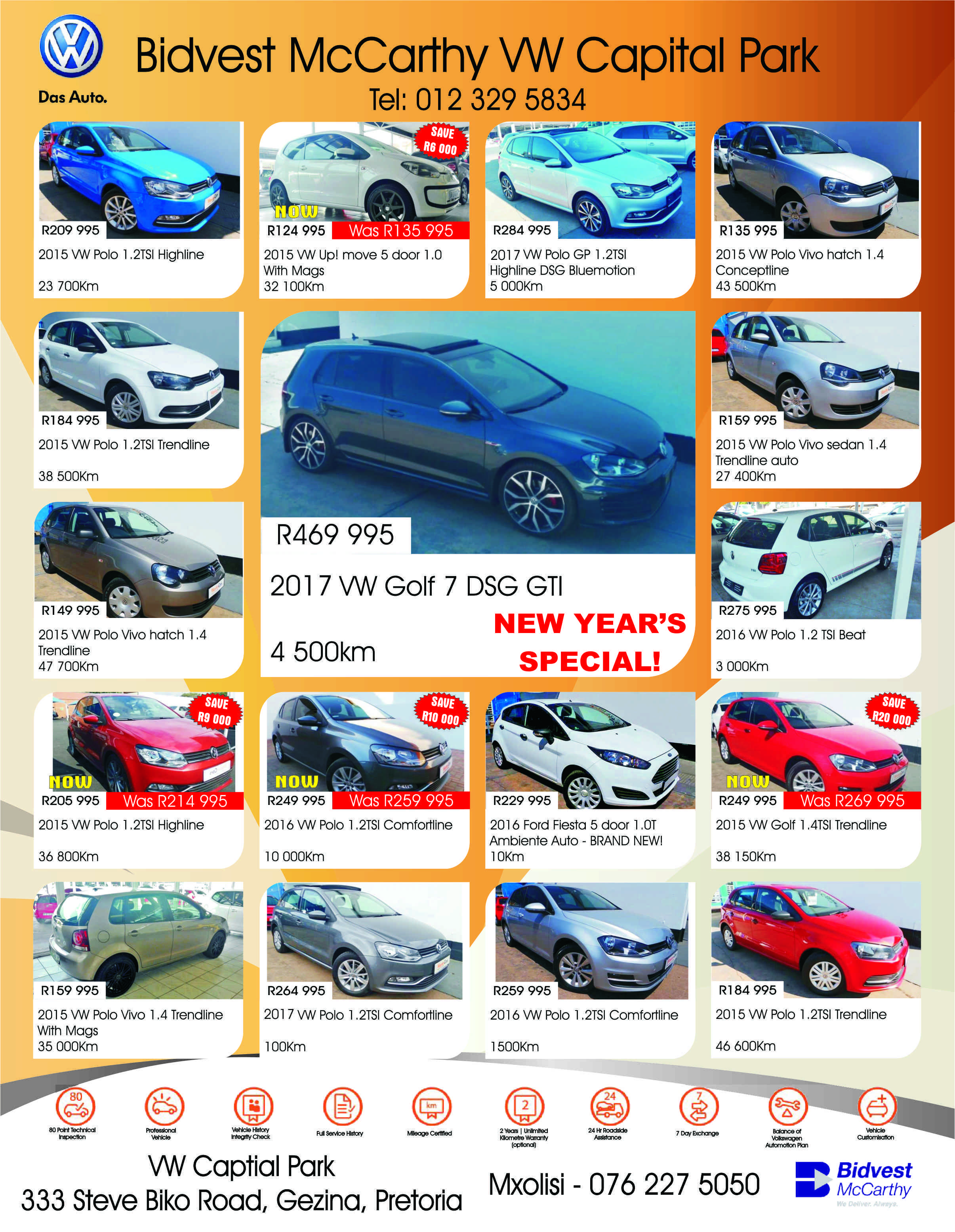 Looking For Something Special Dont Miss Out Bidvest Mccarthy