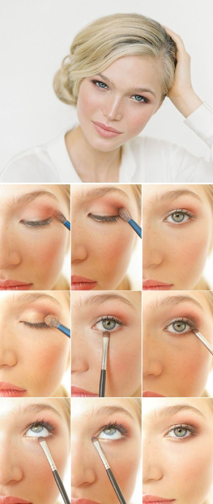 Top  Easiest Makeup Tutorials For Busy Ladies  Easy makeup Easy