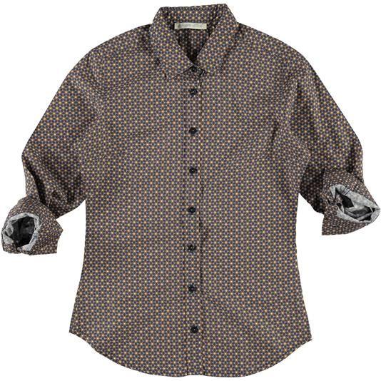 Camicia manica lunga a fiori Joggy, 100% cotone - € 34,90 | Nico.it