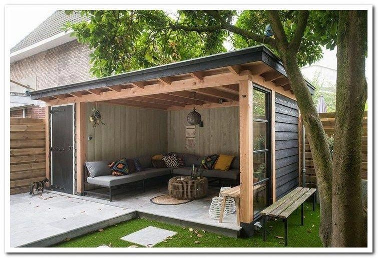 39 Incredible Backyard Storage Shed Design And Decor Ideas 26