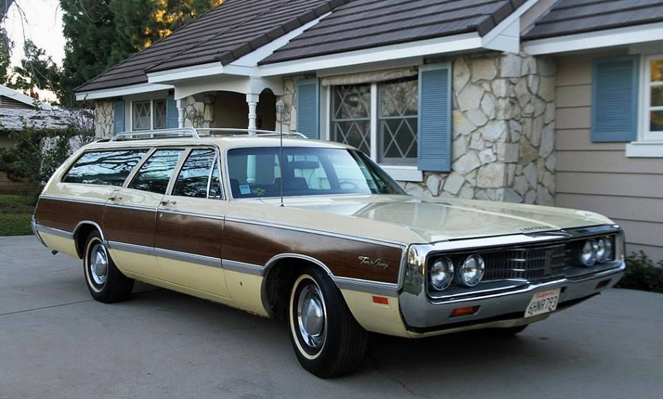 1969 Chrysler Town Country Station Wagon Chrysler Town And