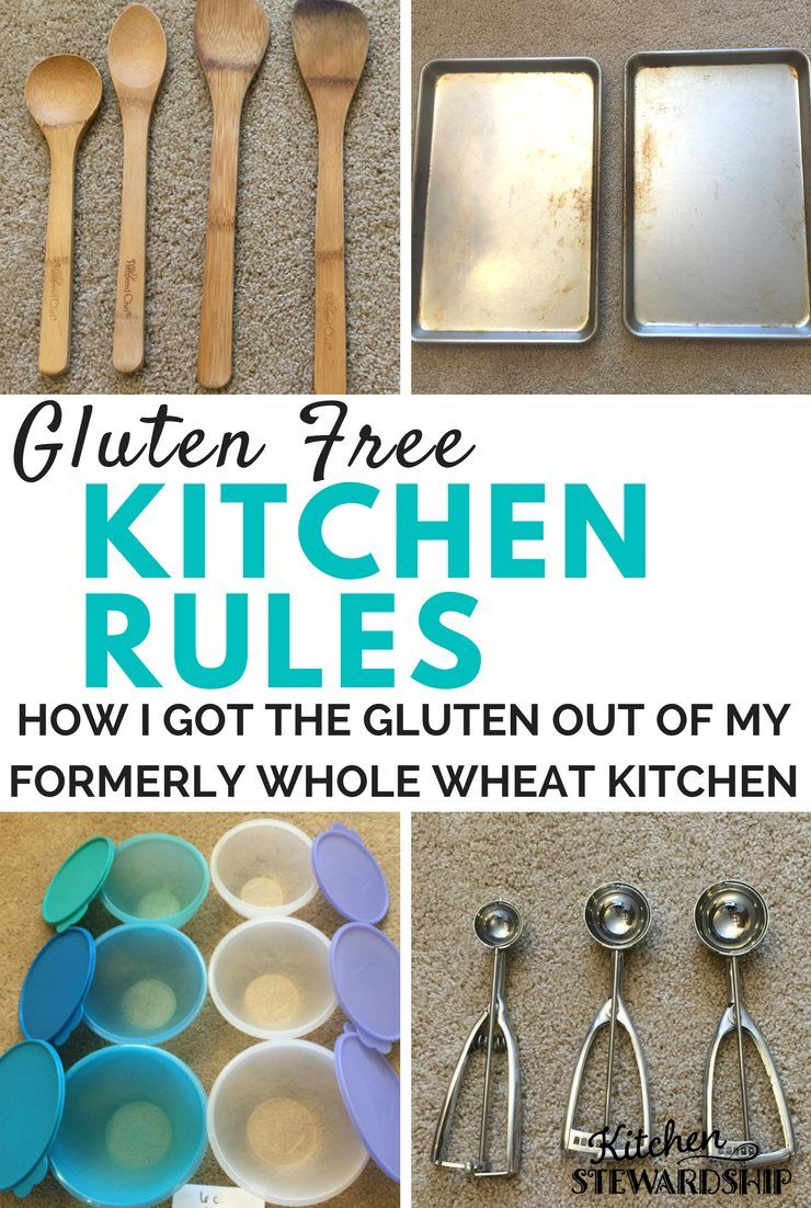 e9571e0a25b Gluten free kitchen rules - Tips on how to avoid cross-contamination in your  own home