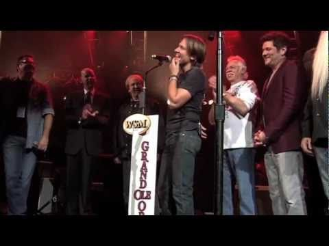 Keith Urban's surprise invitation to join the Grand Ole Opry