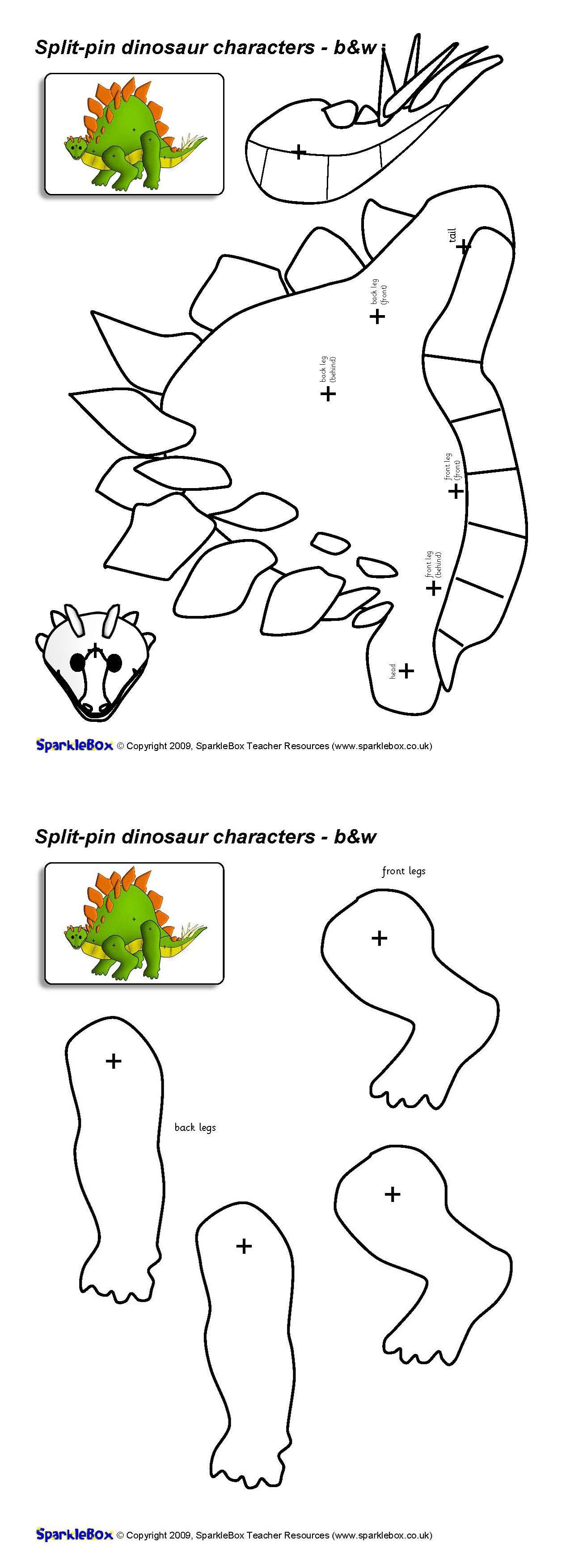 Pin von DAJA auf dino + draci | Pinterest | Dinosaurier, Basteln für ...