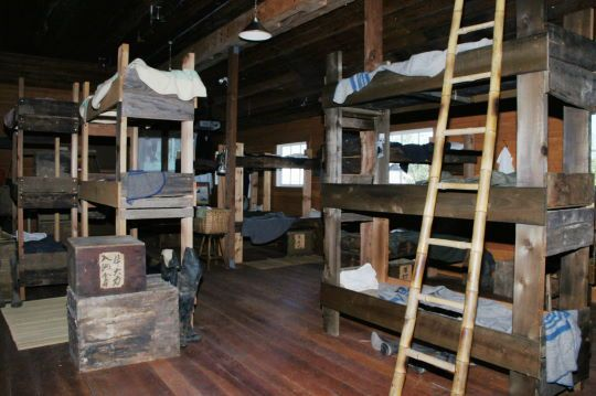 The Bunkhouse Was A Long Rectangle Building Inside The