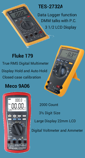 Digital Multimeter Is One Of The Most Useful Testing Instrument Of Test Basic Instruments Can Measure Current Voltage And Resist Multimeter Digital Data Logger