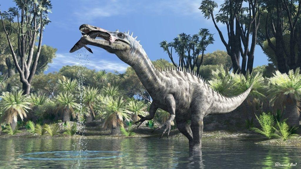 Suchomimus 120 million years ago