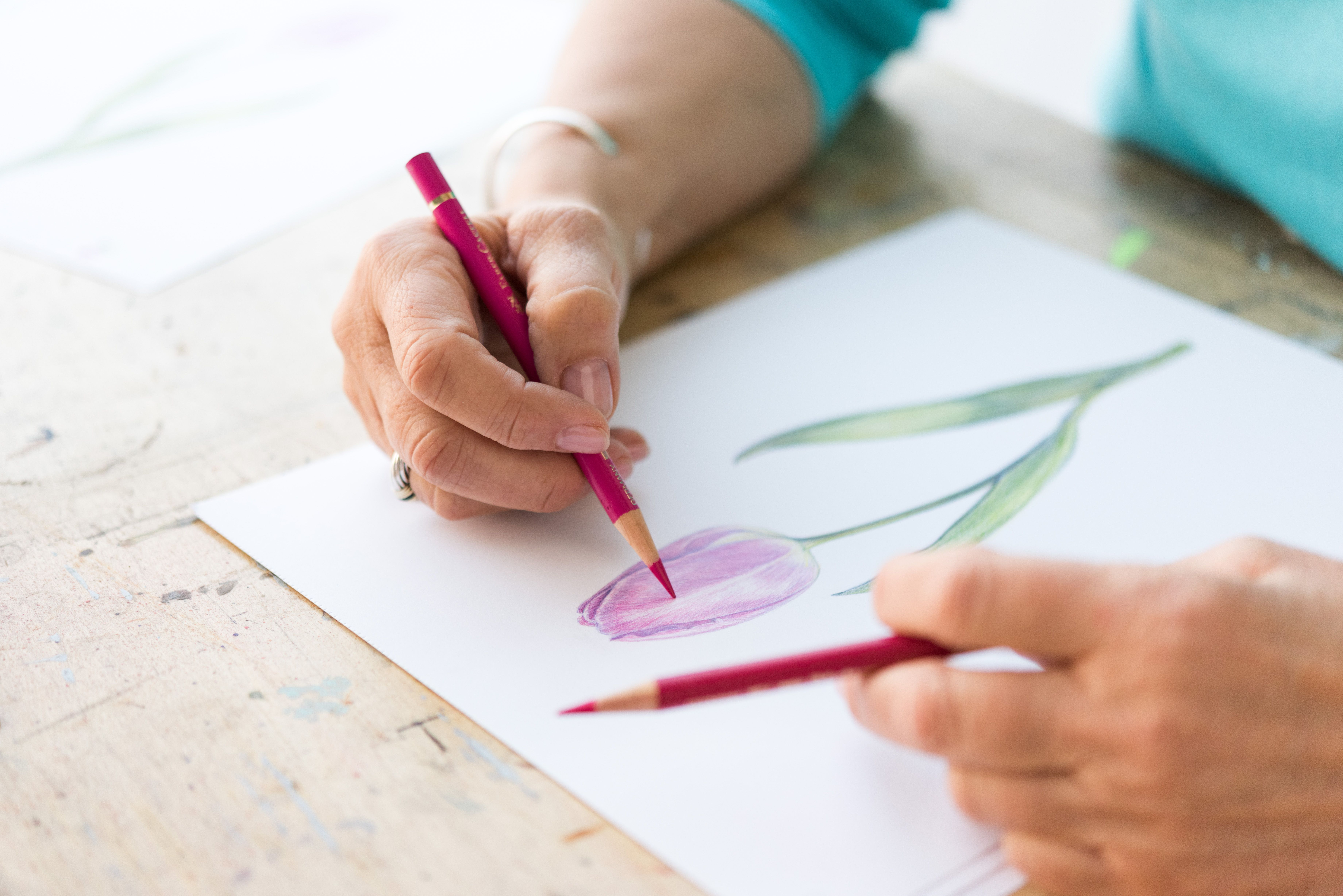 7 Easy Colored Pencil Projects For Beginners To Slay With