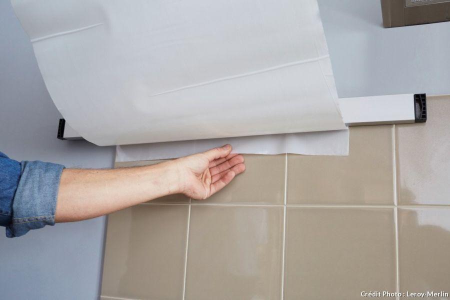 Kit Leroy Merlin Pour Changer Carrelage Sans Decolere L Ancien Basement Decor Home Remodeling Tile Installation