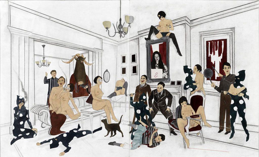 I never force anything on my work: Marcel Dzama