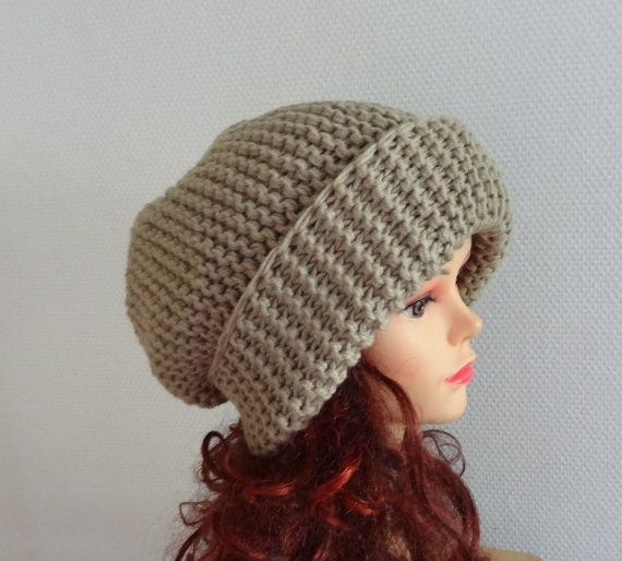 920c711c6bf Sacking Winter Hat Autumn Accessories Slouchy Beanie by Ifonka ...