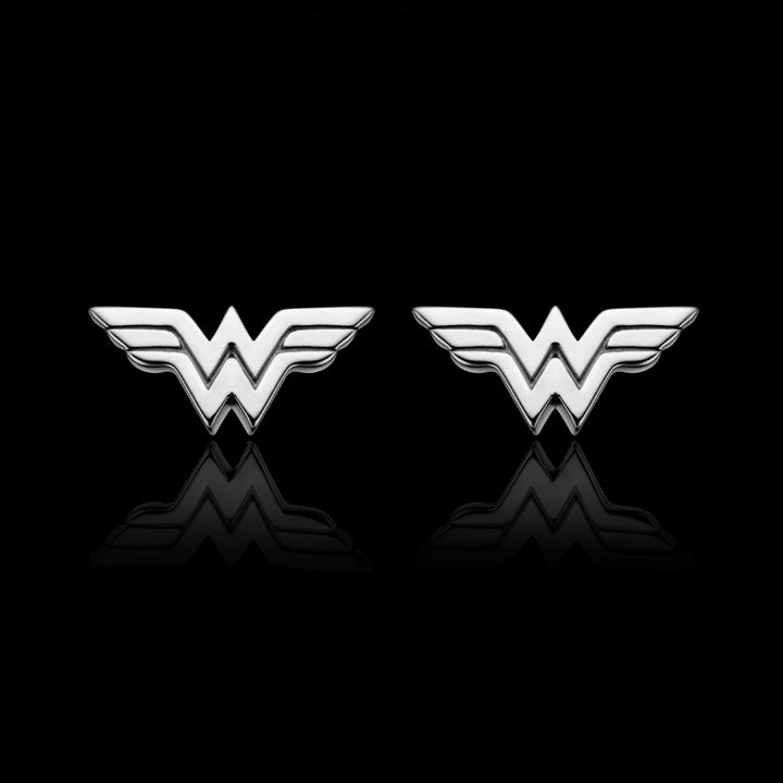 547856dc30716 Sterling Silver Wonder Woman Stud Earrings - THIS IS A MUST! Where ...