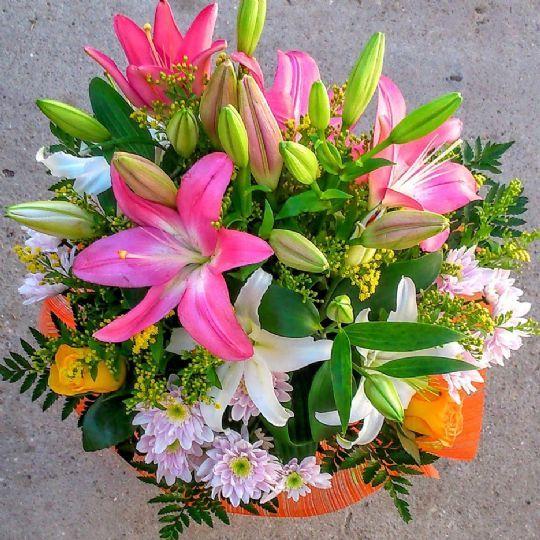Pin En Ramos De Flores Para Regalar