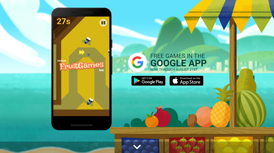 Google Doodle Fruit Games Special Olympics Games by Google ...