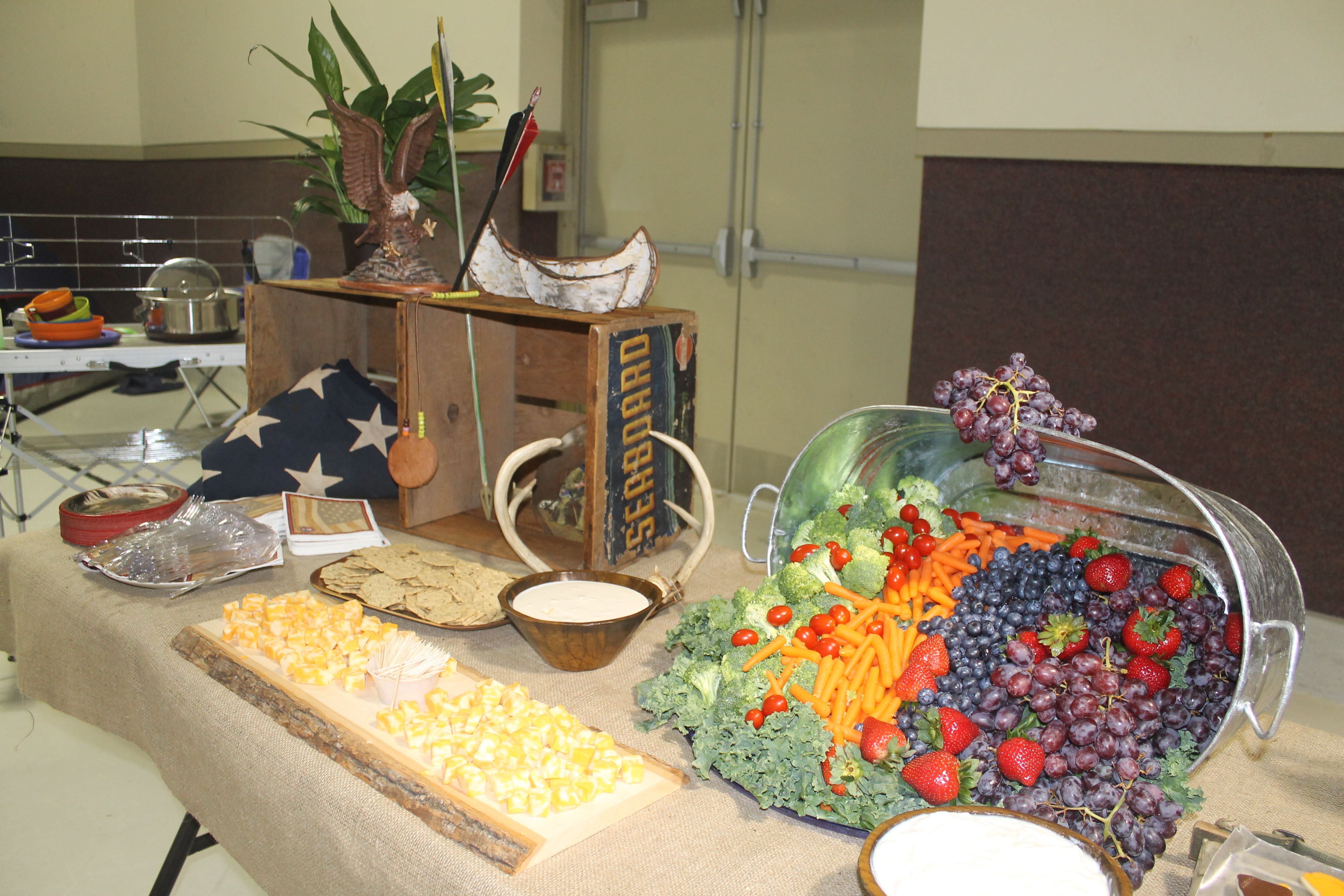 Eagle Court of Honor: Food Table | Drew's Eagle Court of ...