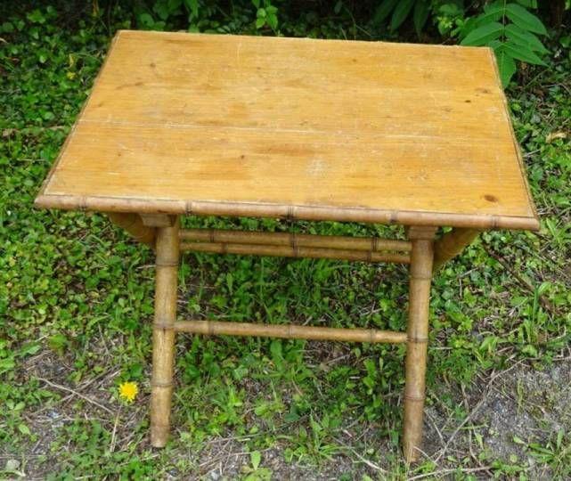 Table Basse Coffre Large Plateau Amovible Bamboo Vert D Eau La Redoute Interieurs La Redoute Table Coffre Mobilier De Salon Grande Table Basse