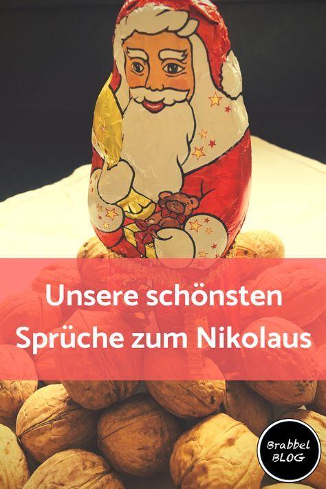 Unsere schönsten Sprüche zum Nikolaus - brabbelblog.de