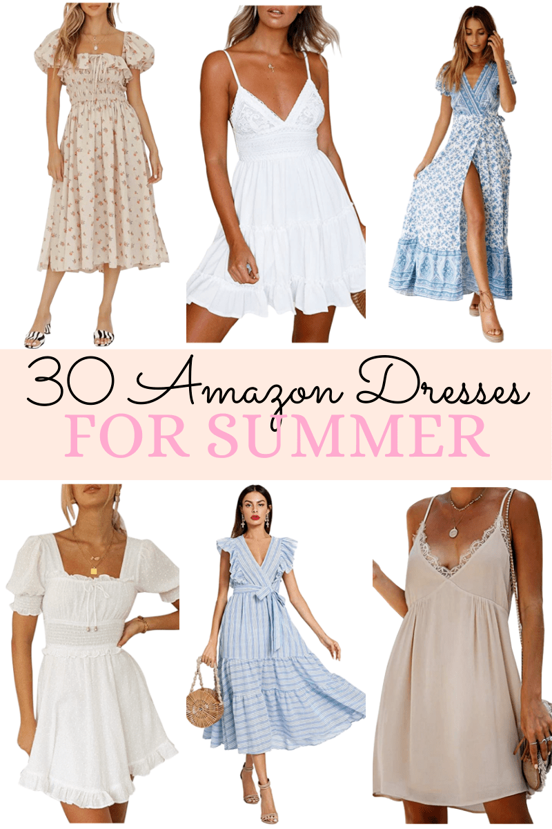 Summer Dresses From Amazon – the dainty details Trendy Outfits